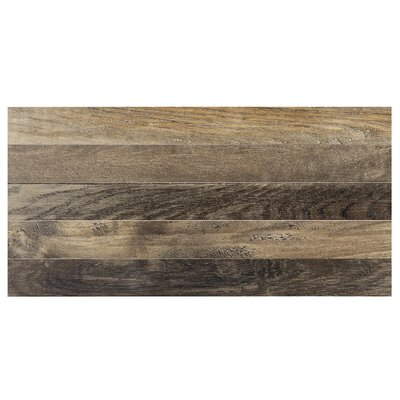 Parq 3.5 x 36 Porcelain Wood Look/Field Tile in Forest