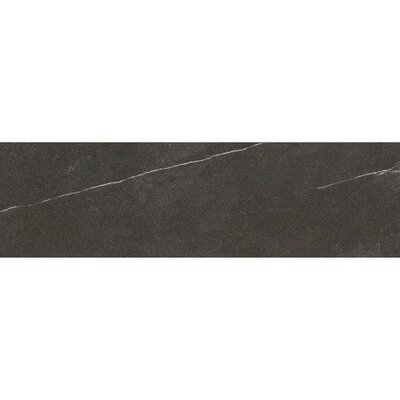 Lifestone 24 x 4 Bullnose Tile Trim in Dark Gray