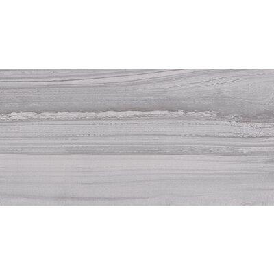 Lakestone 3.25 x 12 Bullnose Tile Trim in Silver