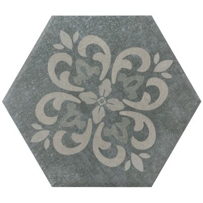 Landscape 11 x 11 Porcelain Field Tile in Dark Gray/Light Gray