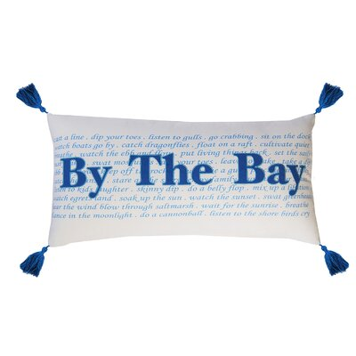I Sea Life By the Bay Cotton Throw Pillow