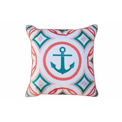 Hawkesbury Embroidered Outdoor Throw Pillow