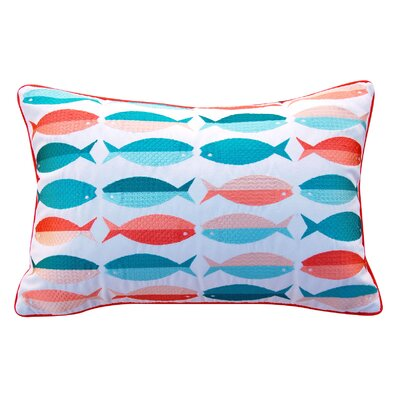 Brust Pattern Outdoor Throw Pillow