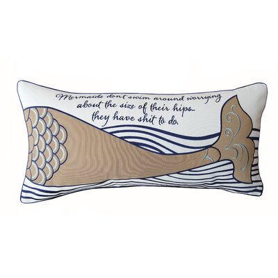 Briese Mermaid Inspiration Lumbar Pillow