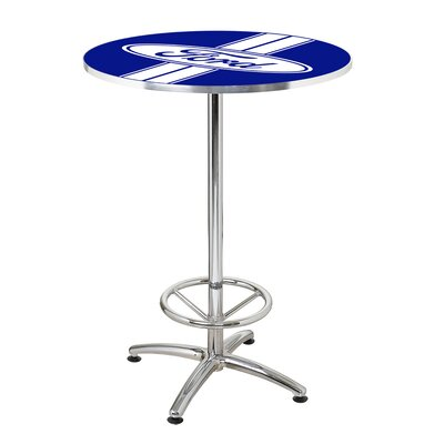 27 Round Ford Stripes Cafe Table