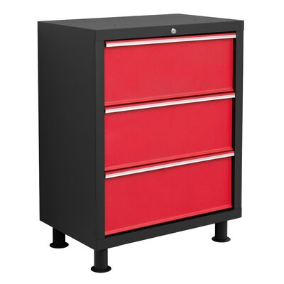 Bold Series Tool Drawer Color: Red with Black Trim 35203