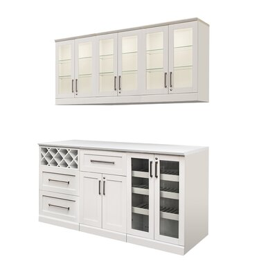 7 Piece Shaker Style Home Bar