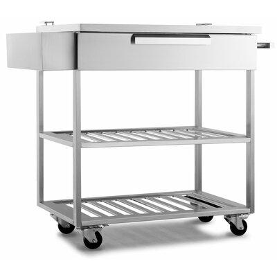 Outdoor Bar Serving Cart