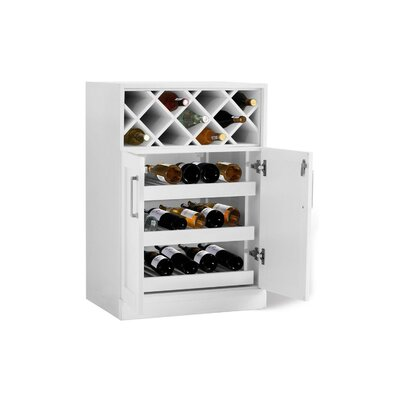 Bottle Cabinet Bar with Wine Storage