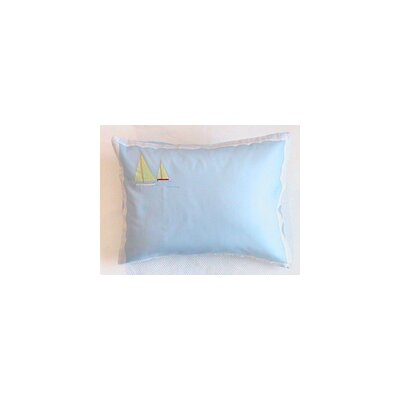 Sailboat Cotton Boudoir with Pillow