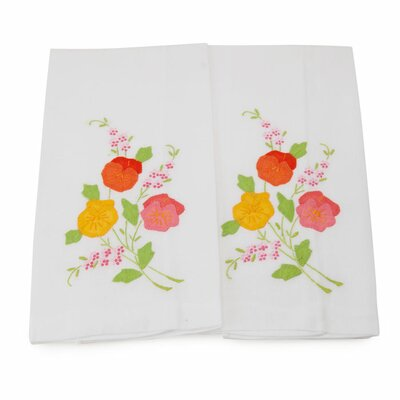 Floral Guest Hand Towel
