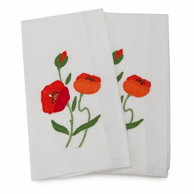 Poppy Guest Hand Towel
