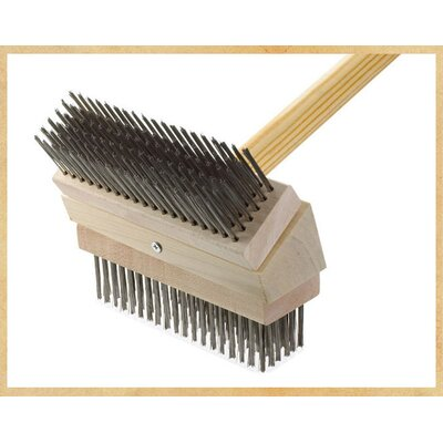 Junior Grill Brush Brush: Stainless