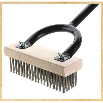Horseshoe Grill Brush Brush: Stainless