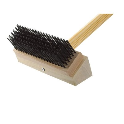Junior Grill Single Head Brush Brush: Black Steel