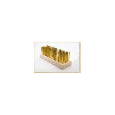 Junior Grill Single Head Brush Brush: Brass