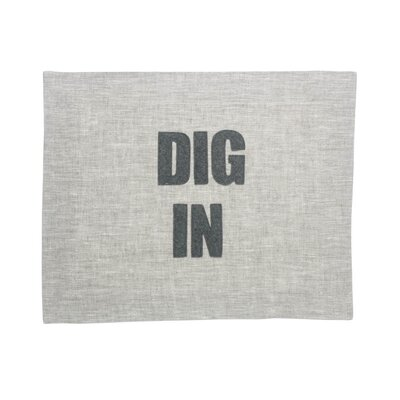 "Dig In"" Placemat DIGIN-PM-FLHT"