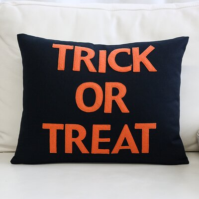 Trick or Treat Canvas Lumbar Pillow