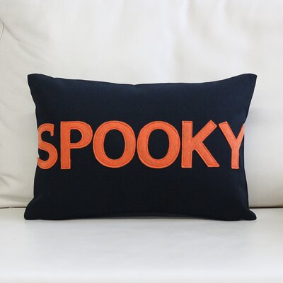 Spooky Canvas Lumbar Pillow