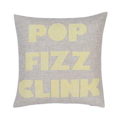 Pop Fizz Clink Throw Pillow