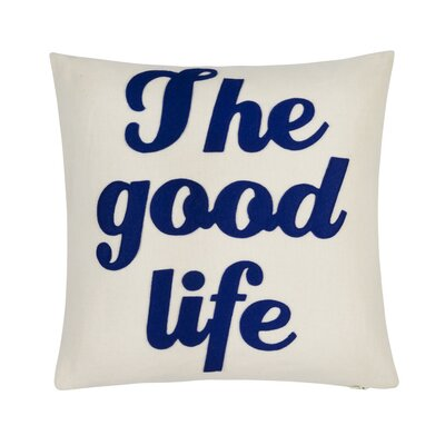 The Good Life Throw Pillow