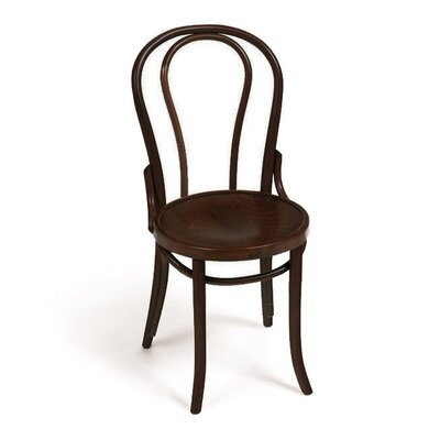 Solid Wood Dining Chair Color: Dark Brown