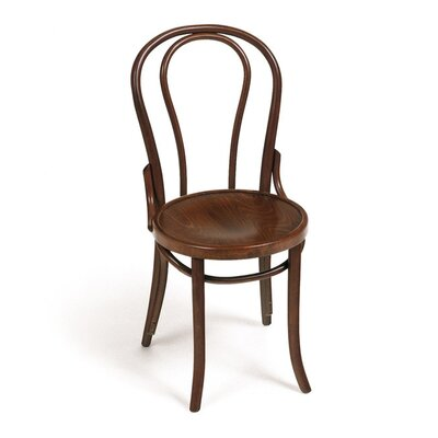 Solid Wood Dining Chair Color: Medium Brown
