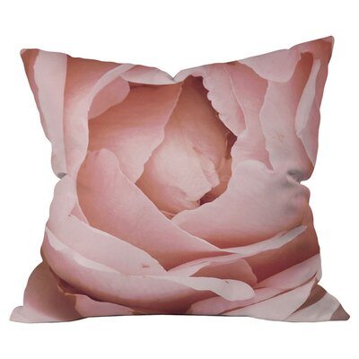 Happee Monkee Versailles Rose Outdoor Throw Pillow