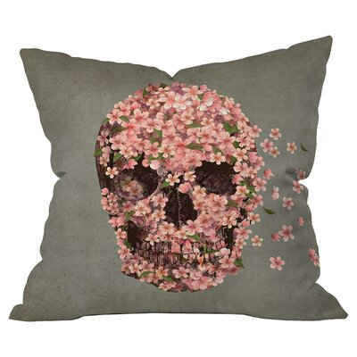 Terry Fan Reincarnate Outdoor Throw Pillow