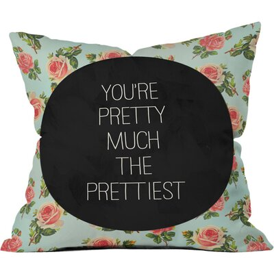 Pretty Much The Prettiest Outdoor Throw Pillow