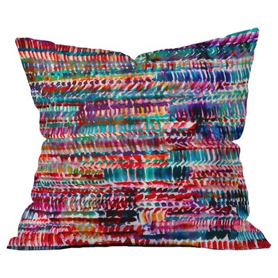 Rain 2 Outdoor Throw Pillow Size: 16 H x 16 W x 5 D