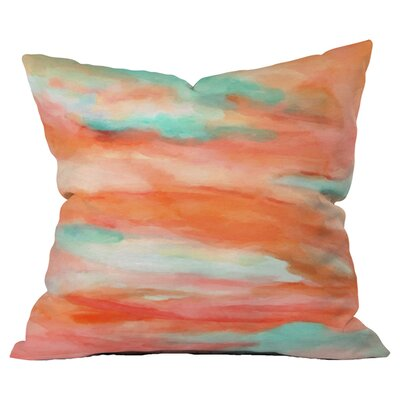Rosie Brown Sunset Sky Outdoor Throw Pillow Size: Extra Large