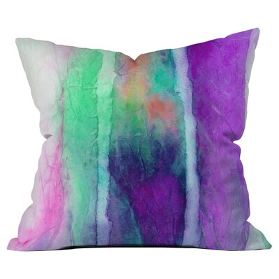 Skein 2 Outdoor Throw Pillow Size: 26 H x 26 W x 5 D