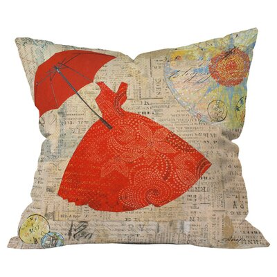 Irena Orlov Lady 1 Outdoor Throw Pillow