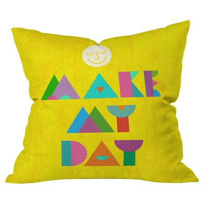 Nick Nelson Make My Day Outdoor Throw Pillow