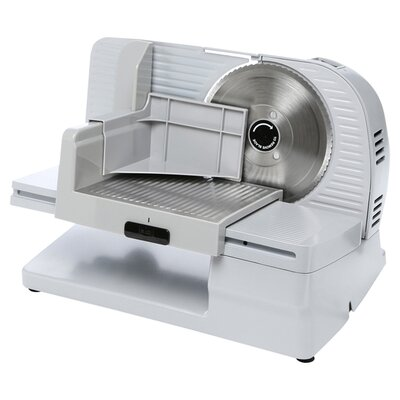 Premium Electric Food Slicer in White 087877610006