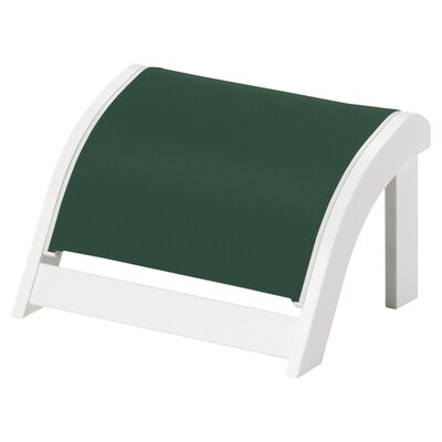 Kennebunk Ottoman Fabric: Forest Green