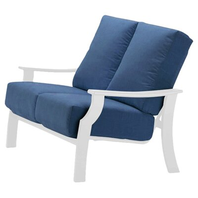 Catherine Indoor/Outdoor Loveseat with Cushion