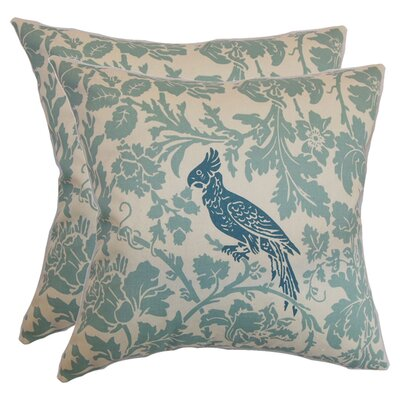 Poitier Cotton Throw Pillow (Set of 2)