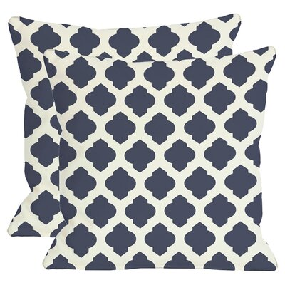 Morrow Throw Pillow in Navy