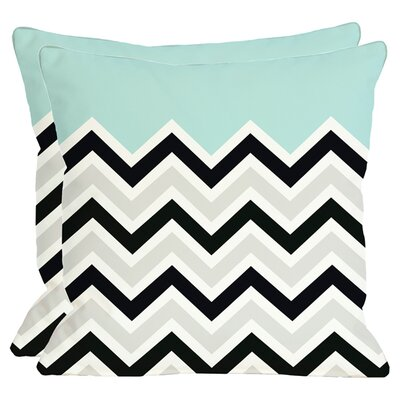 Aurelie Throw Pillow in Light Blue