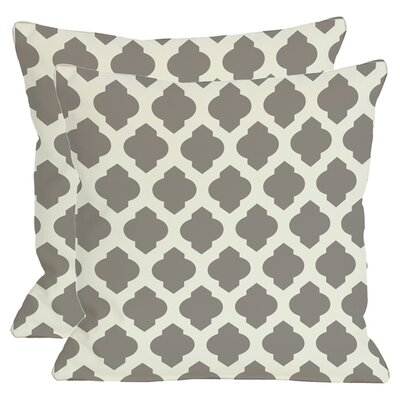 Morrow Throw Pillow in Grey