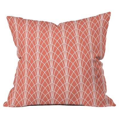 Heather Dutton Arcada Persimmon Outdoor Throw Pillow