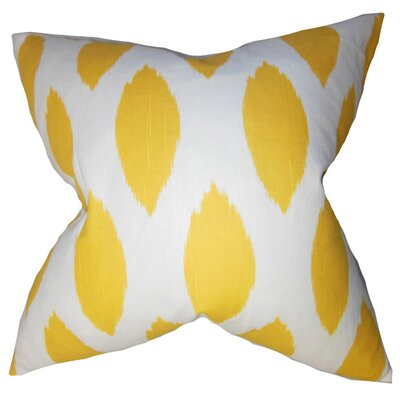 Chipper Cotton Throw Pillow