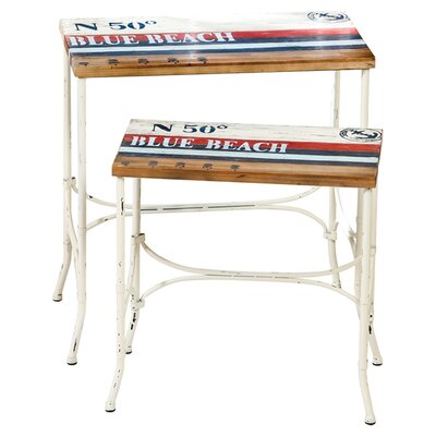 2 Piece La Plage Nesting Table