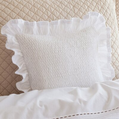 Ella 100% Cotton Throw Pillow