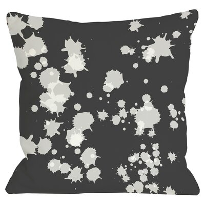 Eva Throw Pillow in Black