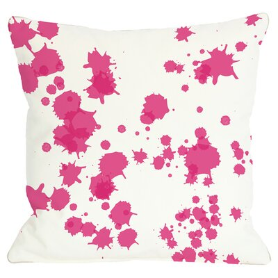 Eva Throw Pillow in Pink