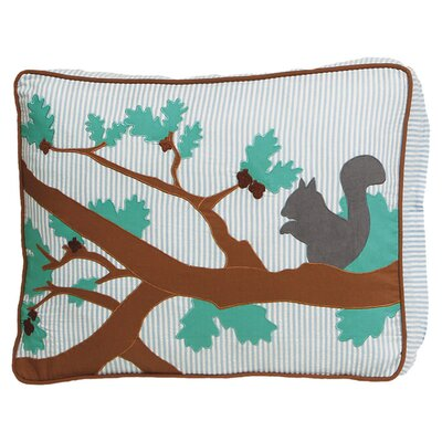 Forest Park Pet Pillow Size: Medium (20 W x 25.5 D x 5 H)