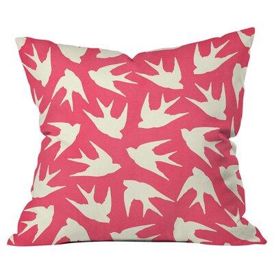 Birds Pink Pillow